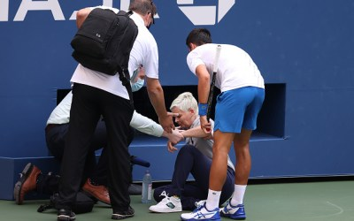 Djokovic Defaulted from US Open!
