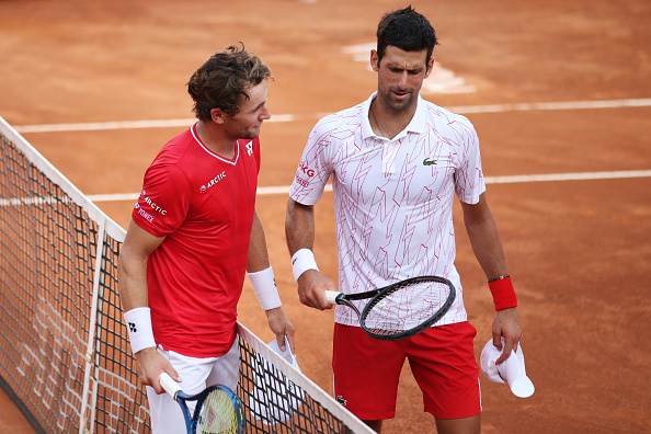 Djokovic and Schwartzman with plenty to play for