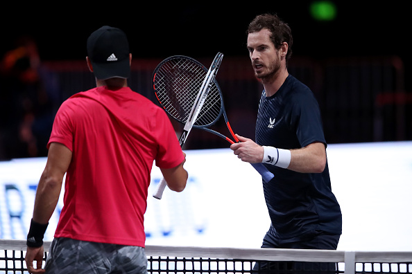 Murray and Edmund make early Cologne exits