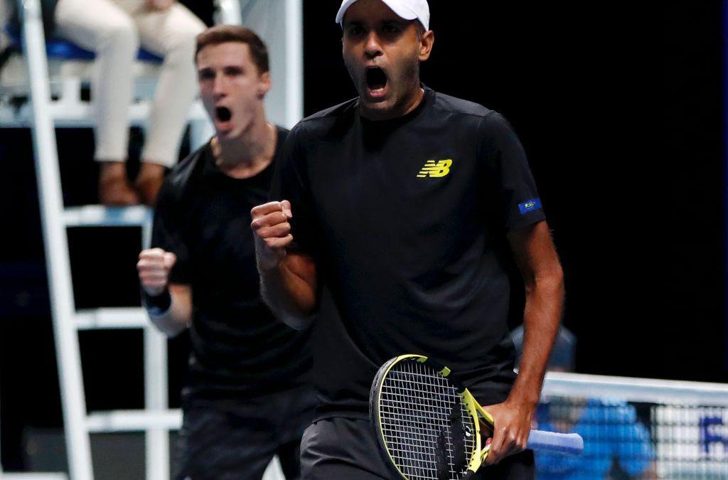 Salisbury & Ram win doubles opener