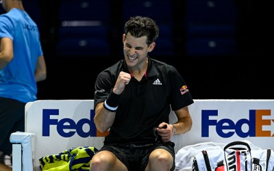 Thiem and Nadal get show on the road