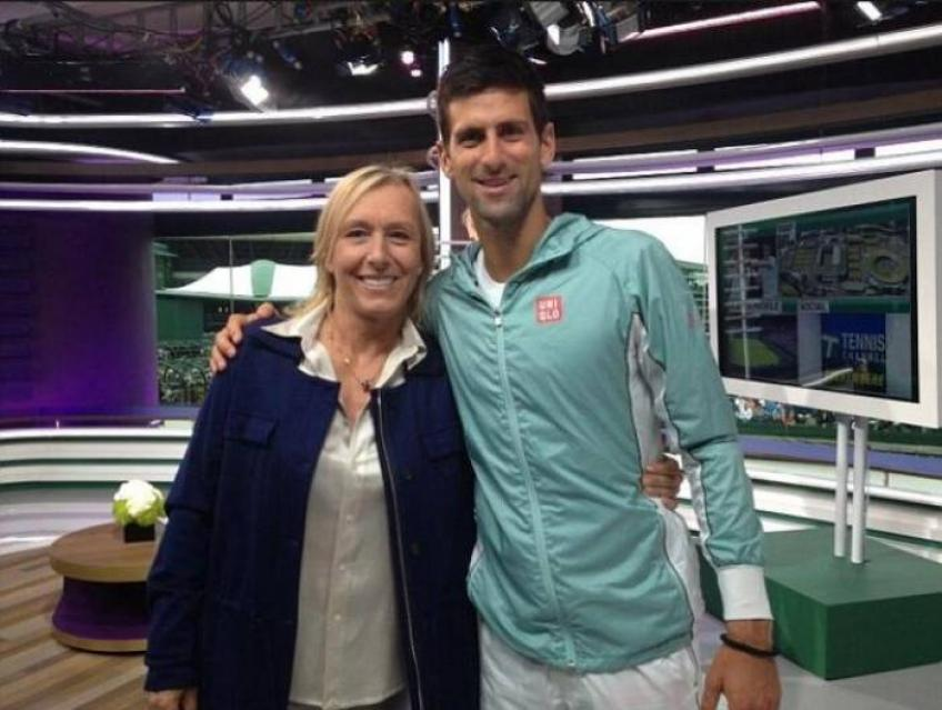 Navratilova and Gaudenzi call for unity in troubled times