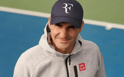 Federer recovers his RF logo