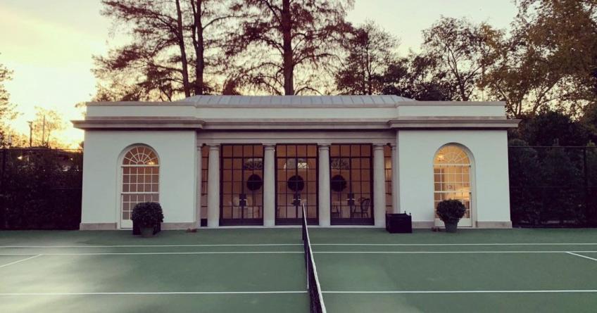 Melania Trump unveils White House Tennis Pavilion