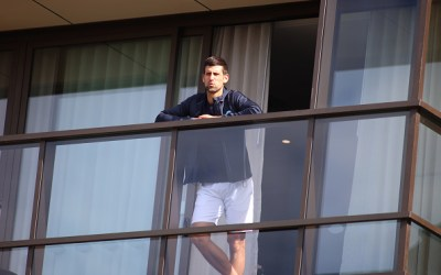 Djokovic reveals injury after 14-days quarantine