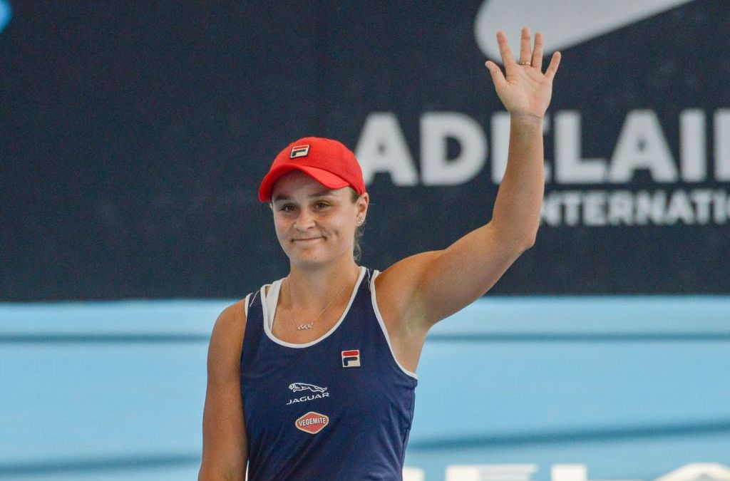 Barty handed tough draw as Andreescu pulls out of Adelaide