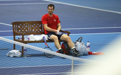 Murray falls at first hurdle