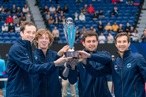 Russia crush Italy in ATP Cup Final