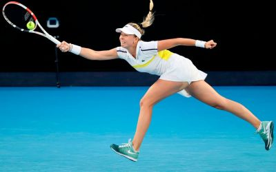 Brady and Bertens beaten in Doha, as Azarenka, Muguruza and Kerber advance