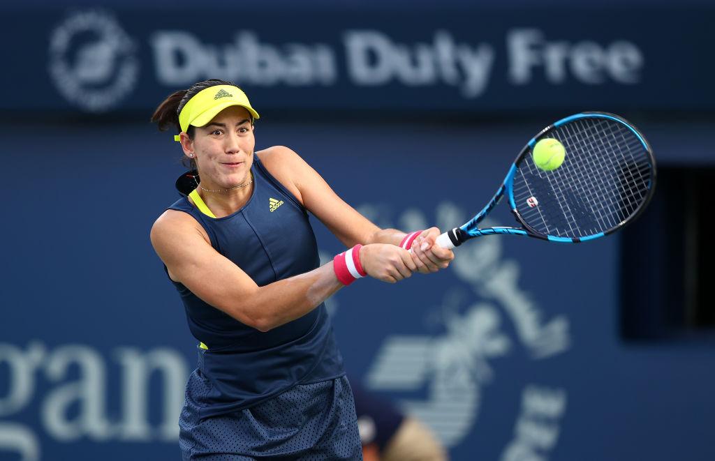 Muguruza moves past Mertens to meet Krejcikova in Dubai final