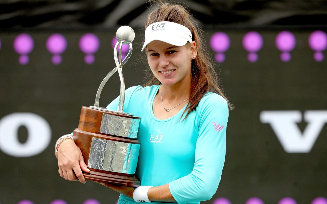 Kudermetova wins first title in Charleston
