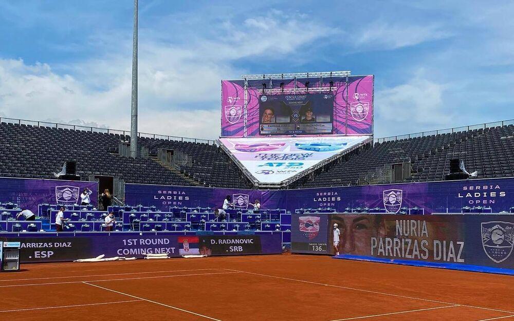 Rain stalls Serbia Ladies Open