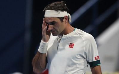 Federer stumbles out of Geneva