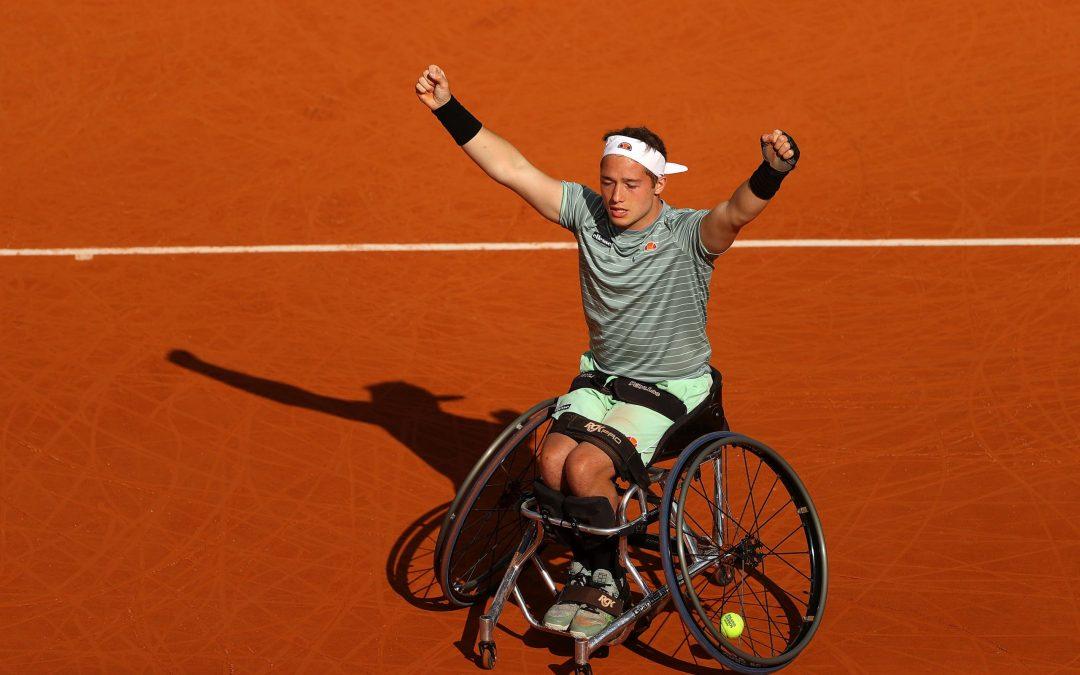 Hewett makes wheelchair final