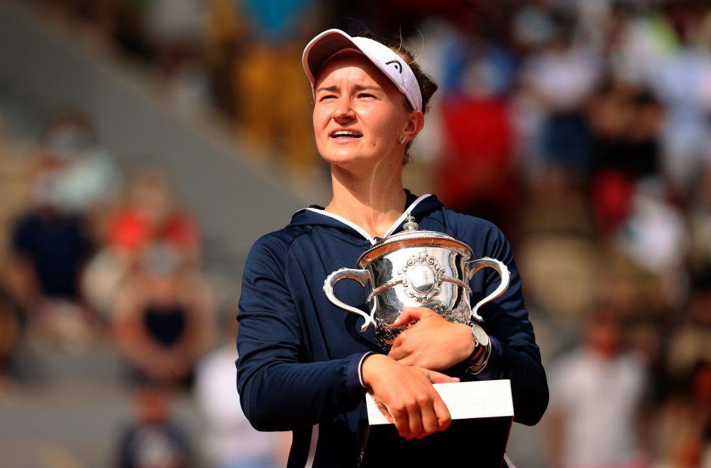 Krejcikova bags French Open title