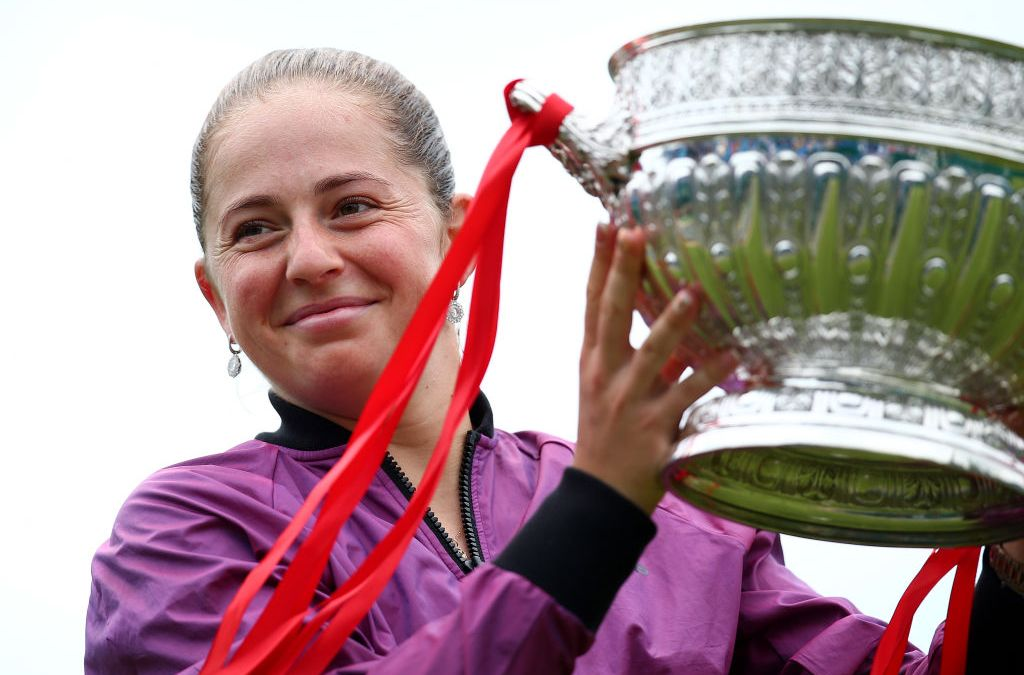 Ostapenko crunches Kontaveit to win Eastbourne title