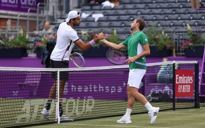 Norrie and Berrettini dispatch Draper and Evans respectively