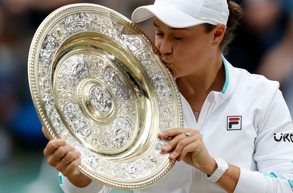 It's a Barty Party at Wimbledon