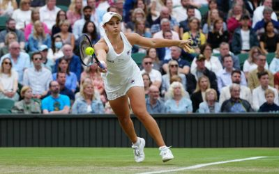 Barty cruises into Wimbledon semi-final