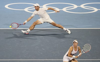 The ROC fill the Mixed Doubles final