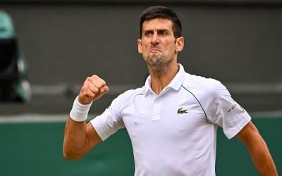Djokovic survives toughest test of Fortnight