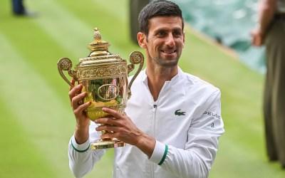 Djokovic clocks up his sixth Wimbledon title