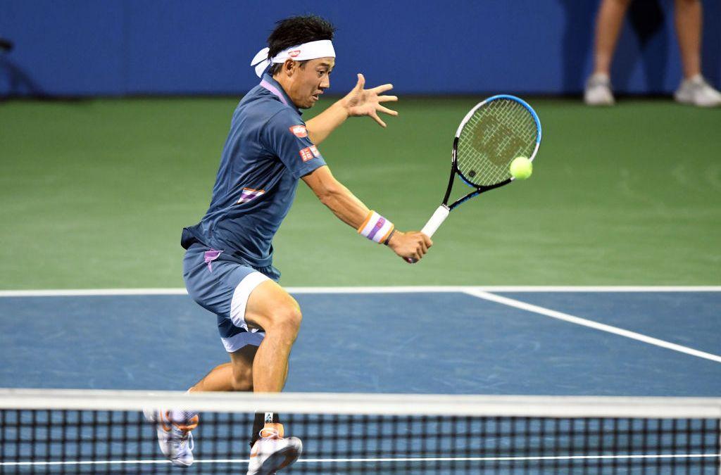 Nishikori makes Citi Open semi-finals