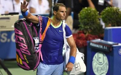Nadal withdraws as the main contenders get underway