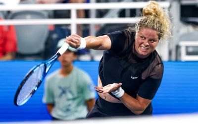 Clijsters plays Chicago Fall Classic