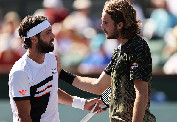 Two shock results as Tsitsipas and Zverev fall