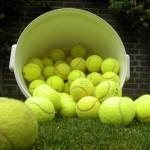 Alle ballen verzamelen …..