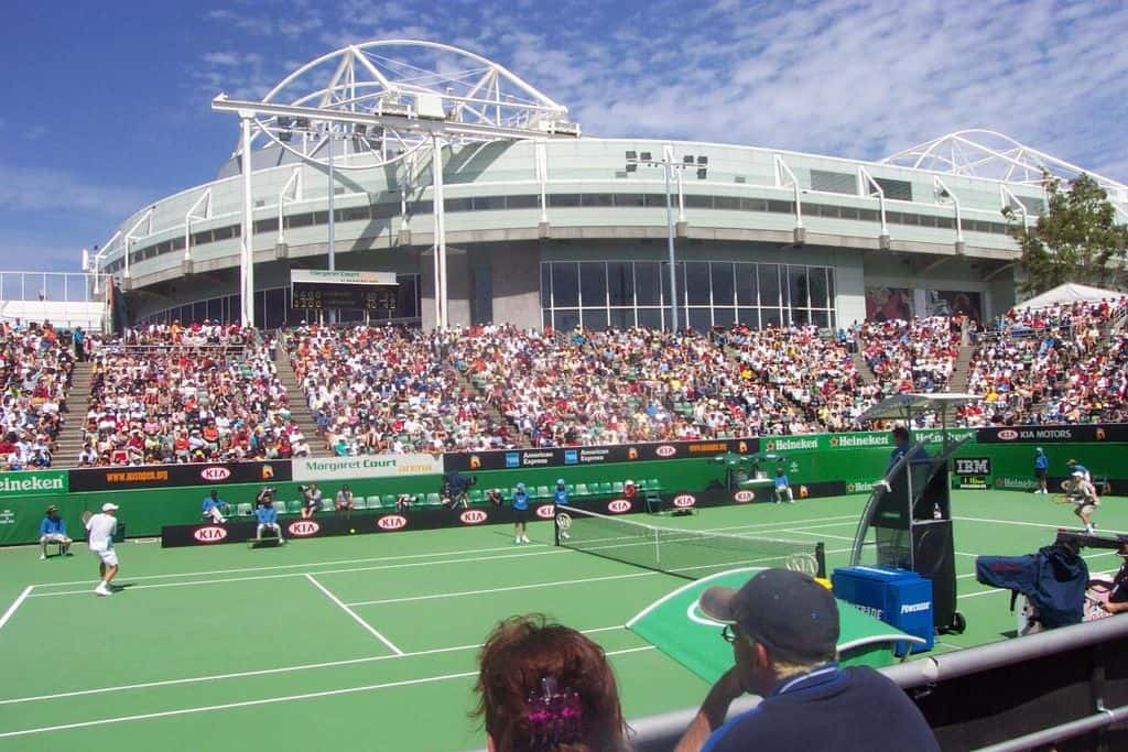 Australian Open is the first ever Grand Slam tournament that is played in Melbourne in January.