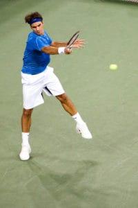 Roger Federer at US Open