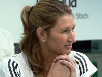 Steffi Graf played Serena Williams twice