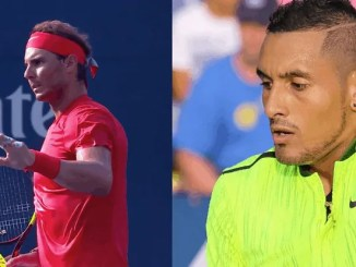 Nadal will take on Kyrgios for the eighth time in their careers
