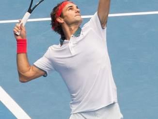 Federer v Sandgren Australian Open 2020