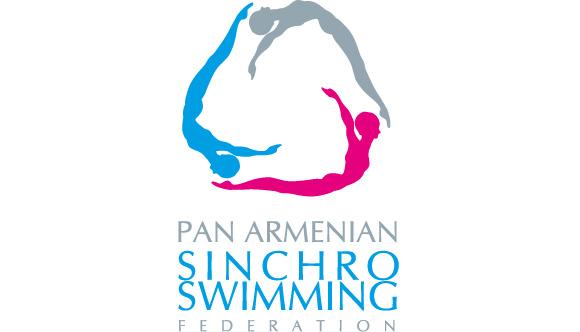 sinchro swimming portfolio graphic