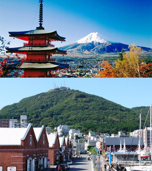 Pesona Jepang Gunung Fuji dan Gunung Hakodate