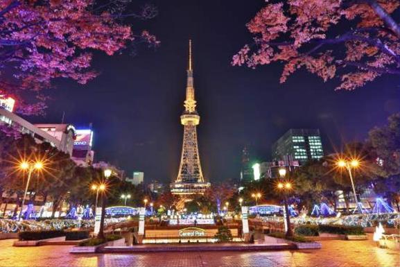 Nagoya TV Tower Menara Tertua di Jepang - www.tripadvisor.com