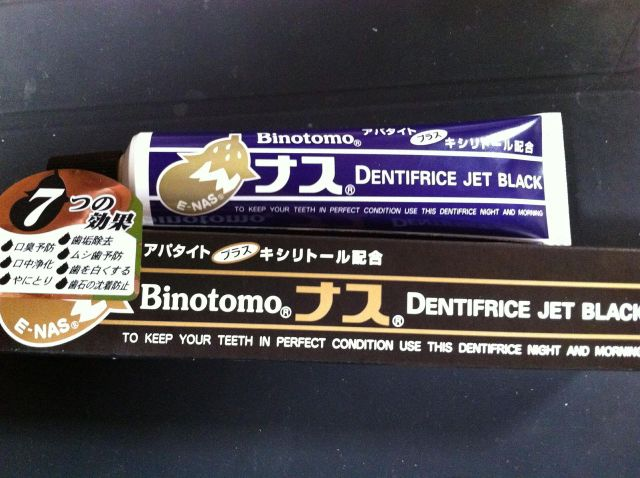 Pasta Gigi Jepang Rasa Terong