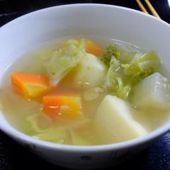 春野菜たっぷりのポトフスープ