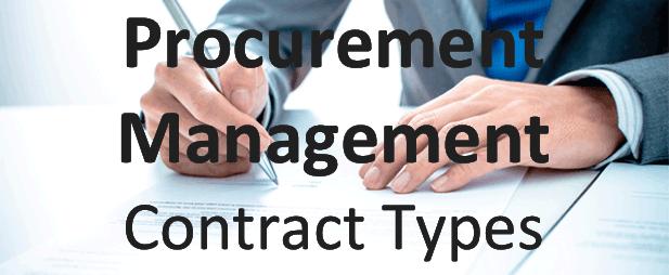 Procurement Management Contract Types