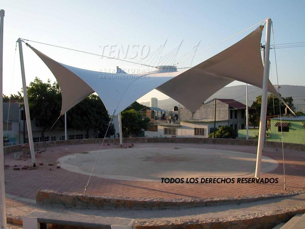 Tenso velarias y tenso estructuras arquitect nicas for Para desarrollar un parque ajardinado