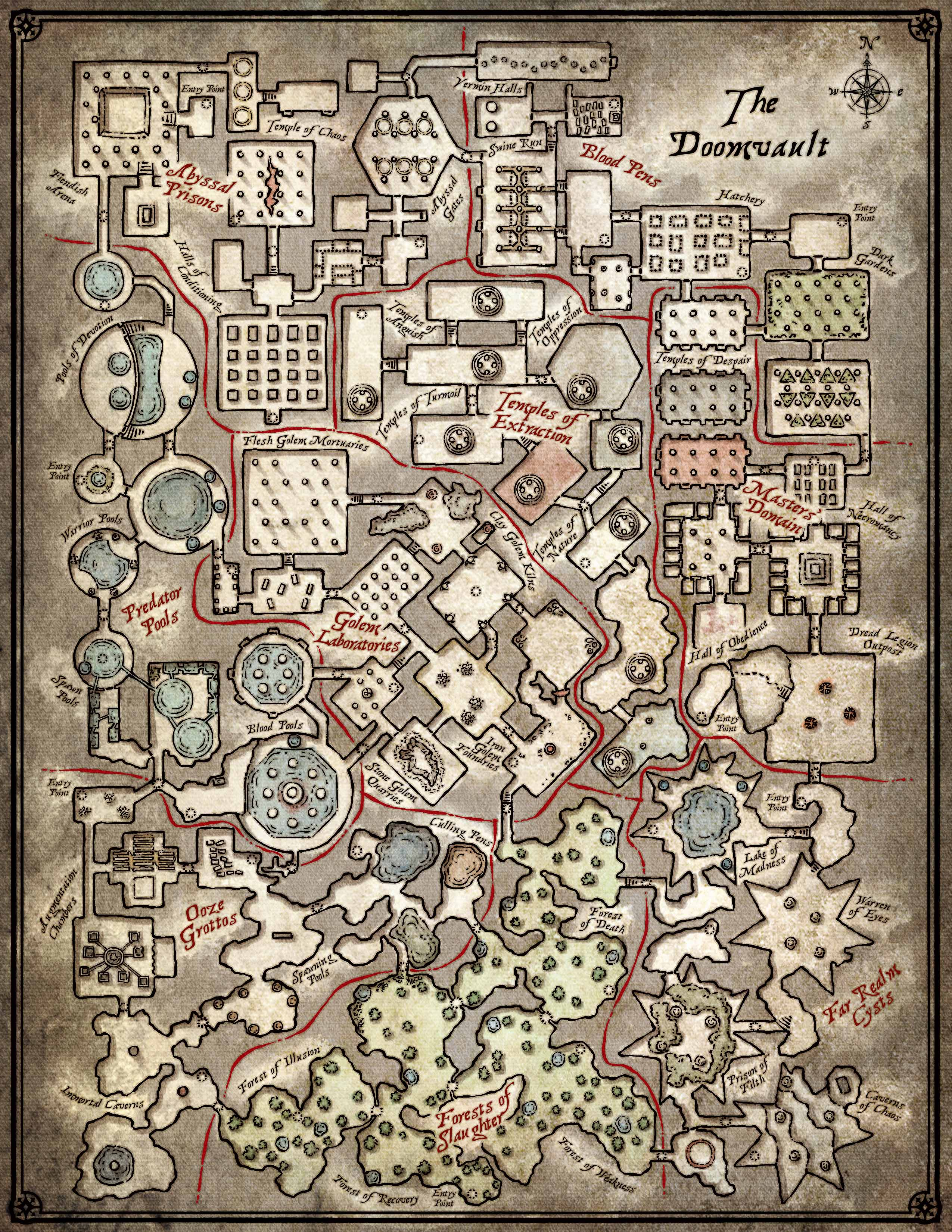 Princes Of The Apocalypse Maps Pdf : princes, apocalypse, Index, /~prophet/lock/DnD, Edition/