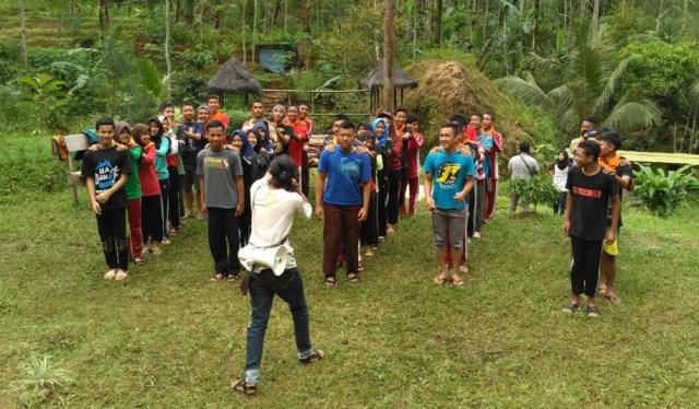 Foto: Latihan Gabungan Kelompok Pecinta Alam (dokumen pribadi)