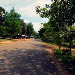 Leaving Angkor Archeological Park
