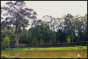 Walkway on Baphuon temple, Angkor Thom
