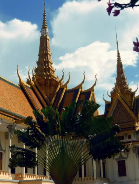 2 of 3 Throne Hall's spires
