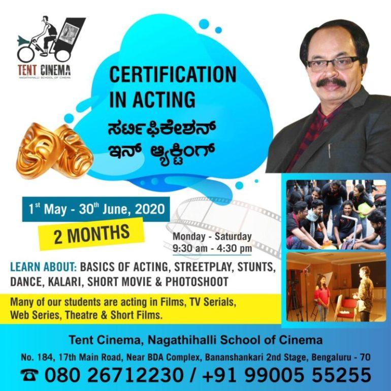 Certification in Acting
