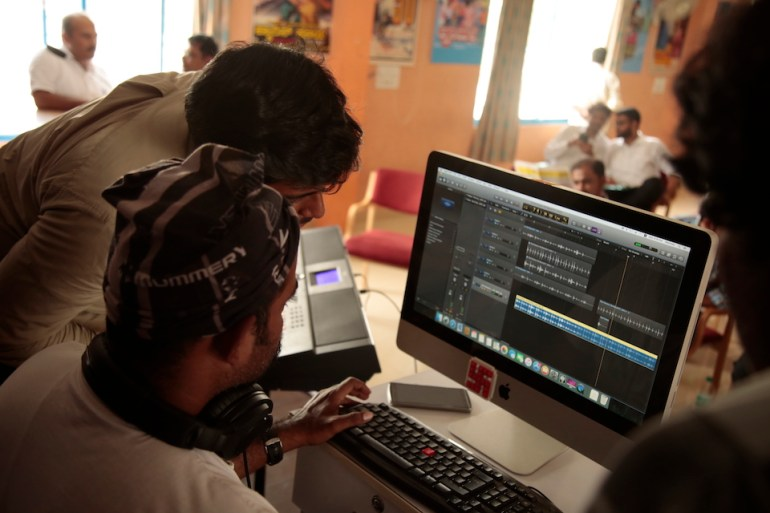 Film Editing Workshop @ Tent Cinema Bangalore